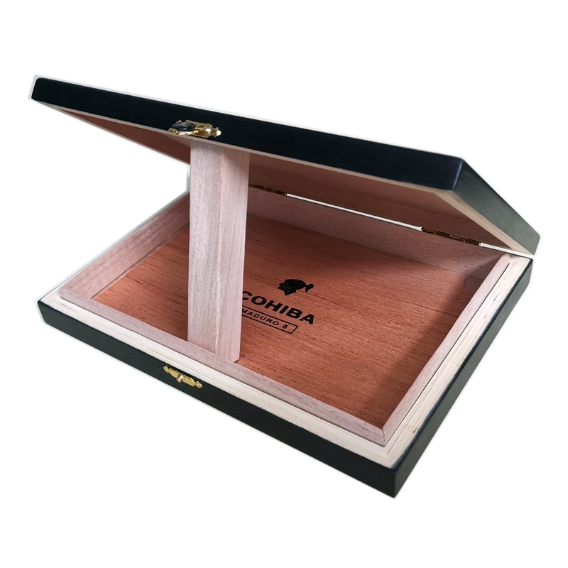 Cigar Box Piano Lacquer Moisturizing and Chunhua 10 PCs/25 PCs Cigarette Case enlarge