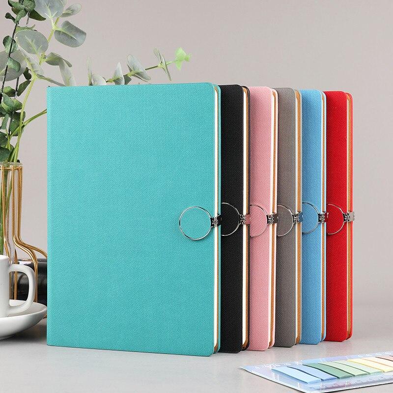 Ультратолстый дневник А5, 200 страниц, ежедневник, блокнот для работы в офисе, простой толстый Дневник для колледжа, офиса, школьные принадлеж...