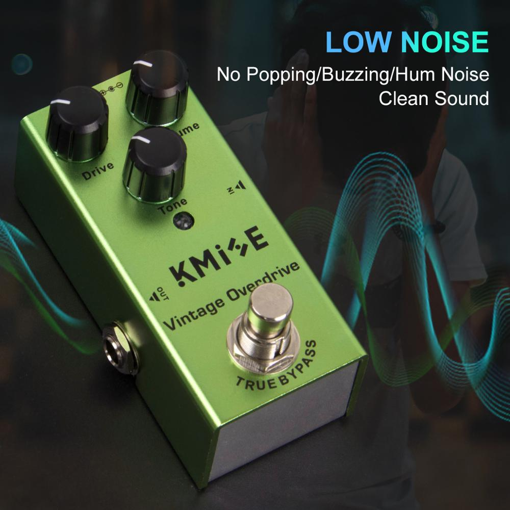 Kmise Guitar Effects Pedal Overdrive Mini Single Vintage Overdrive DC 9V True Bypass for Electric Guitar enlarge