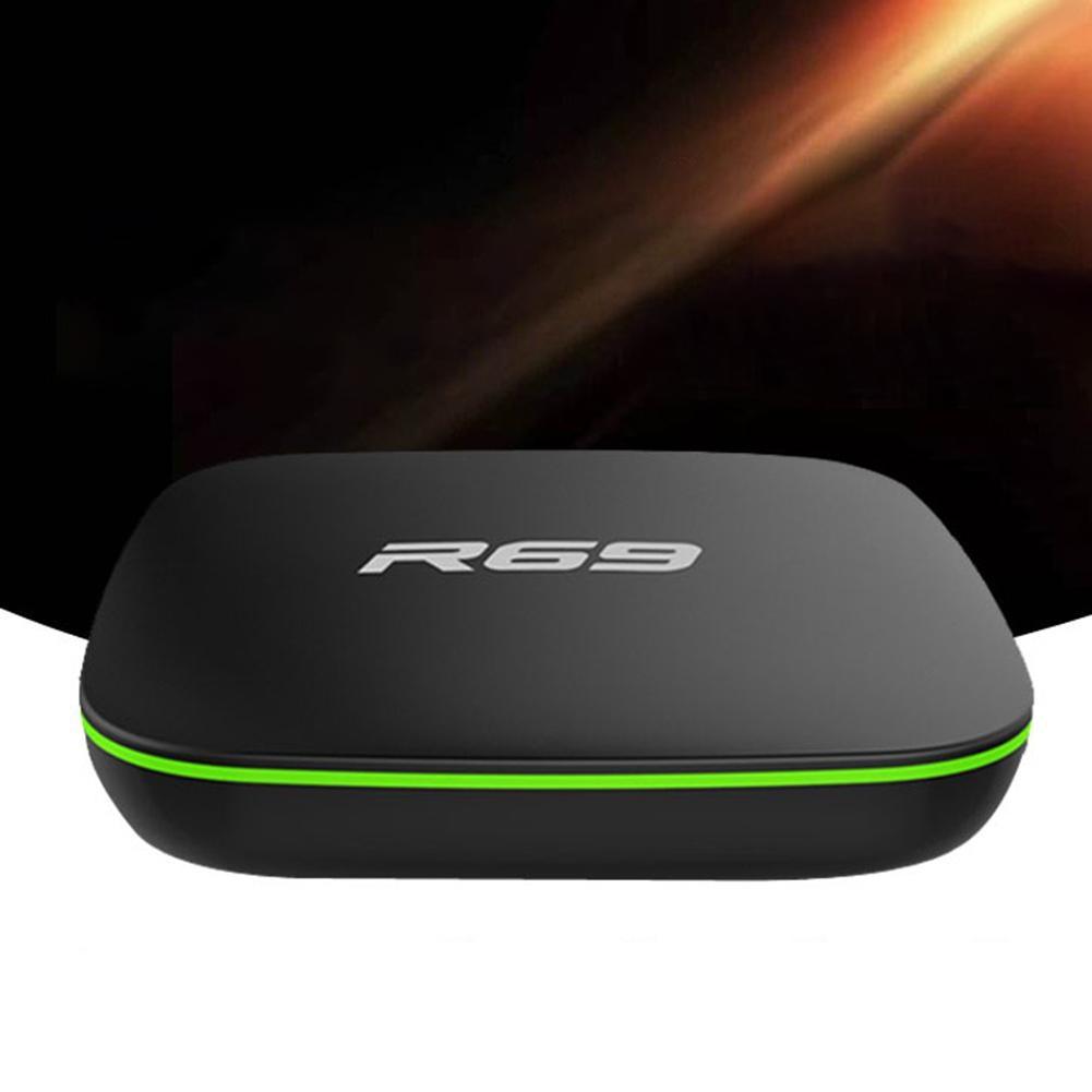R69 Android TV BOX Android 7.1 Smart TV Box 2GB 16GB Amlogic S905W Quad Core 2.4GHz WiFi Set top box 1GB8GB