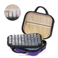 diamond painting 132 bottles tools container storage bag carry case daimond painting bag embroidery accessories double layer