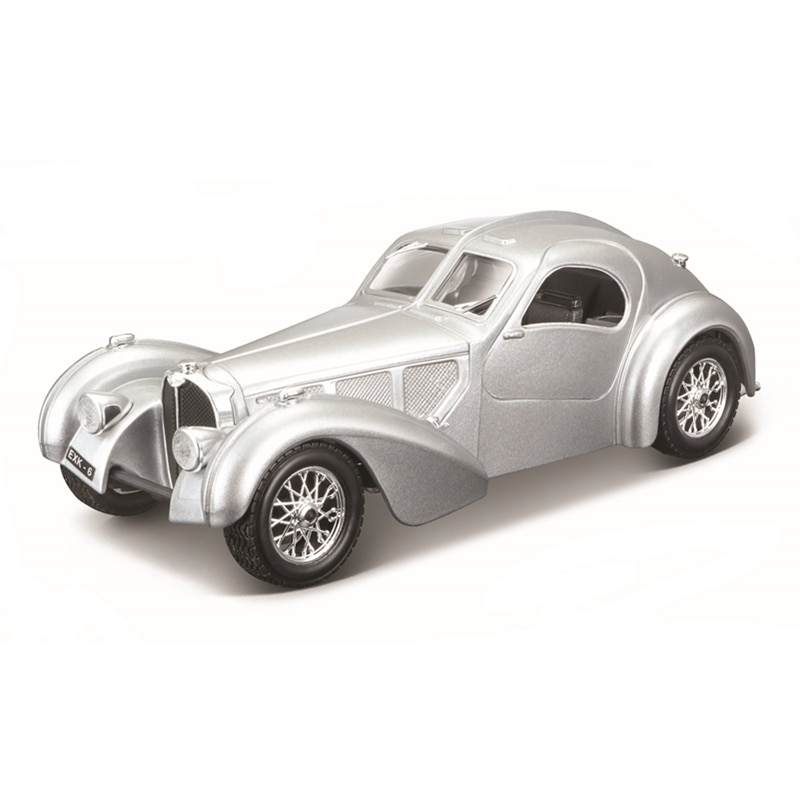 Bburago 1:24 Scale Bugatti Atlantic alloy racing car Alloy Luxury Vehicle Diecast Cars Model Toy Collection Gift alloy model gift 1 50 scale scania a90 city wide transit bus vehicle diecast toy model for collection decoration