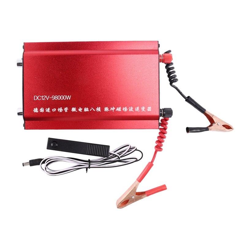 DC12V بالموجات فوق الصوتية العاكس الكهربائية فيشر عالية الطاقة الصيد عالية ماكينة كهربائية آمنة العاكس
