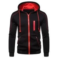 mens high quality zipper hoodie 3d design casual 2020