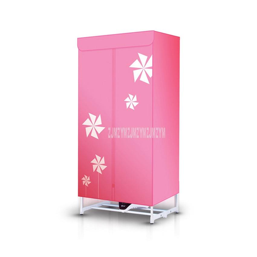 Secador de aire caliente portátil para el hogar, secador de tela eléctrico, ropa de bebé Ultra silenciosa, máquina de secado rápido, 1000W