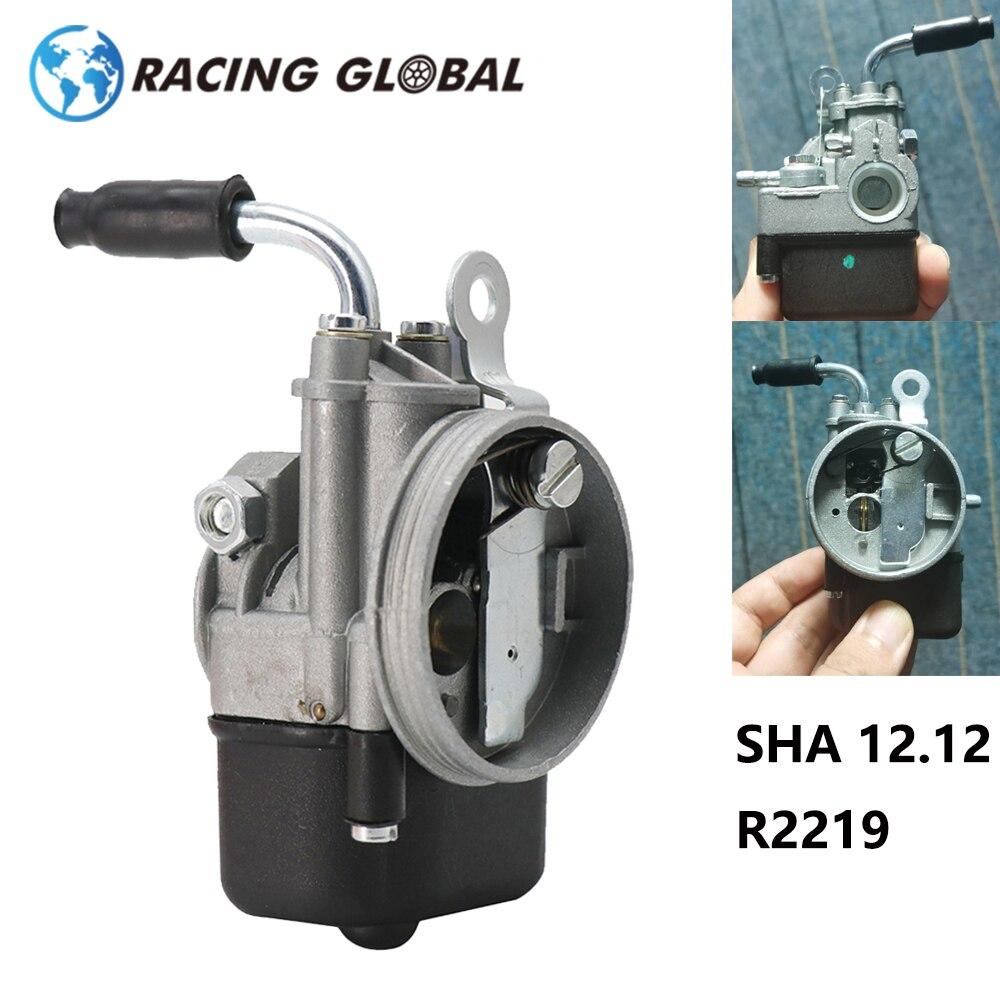 Alcon-carburador de motocicleta sha 12.12 r219 para piaggio ciao px fl vespa ciclomotor bolso sha 12/12 dellorto carburador