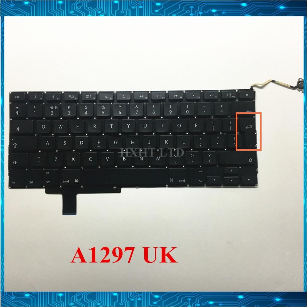"NOVA A1297 REINO UNIDO teclado Para Apple MacBook Pro 17 ""A1297 Laptop keyboar REINO UNIDO Inglês layout MD311 MC311 2009- 2011 ano"