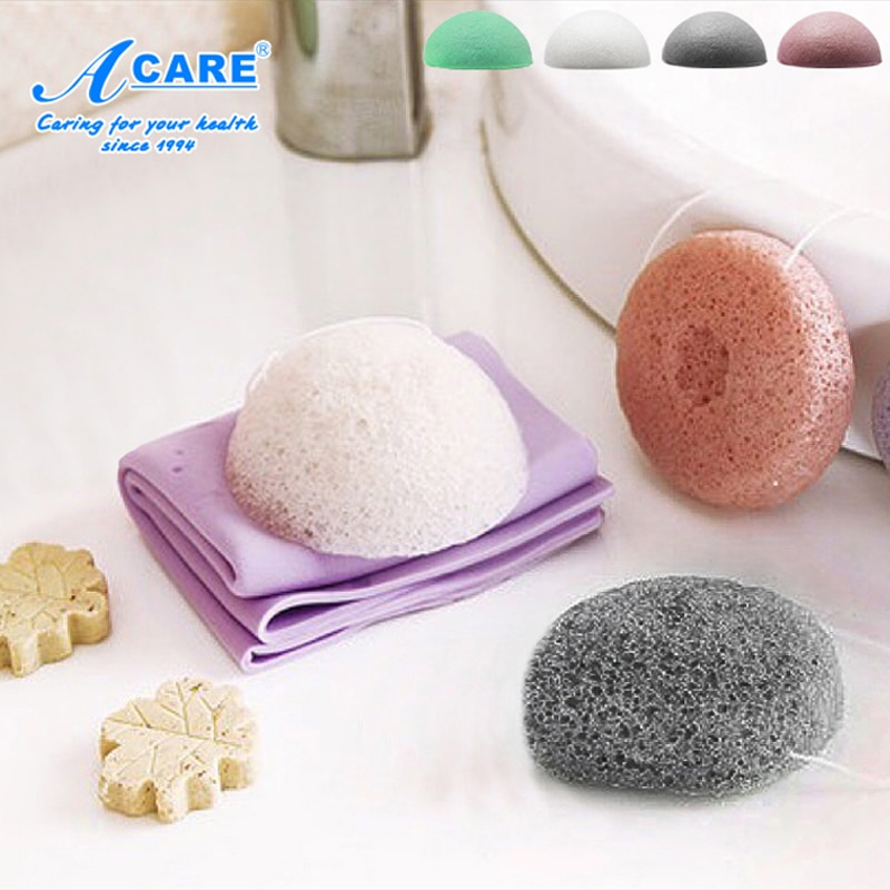 Natural Konjac Sponge Cosmetic Puff Face Cleaning Sponge Natural Konjac Puff Facial Cleanser Tool Wash Flutter недорого