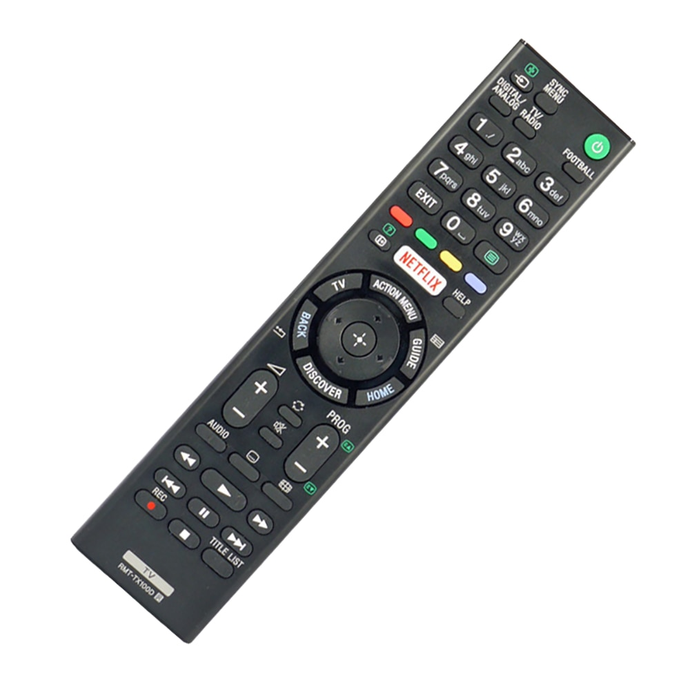 Controle remoto para sony RMT-TX100D netflix bravia tv rmttx100d KD-43X8301C RMT-TX101J RMT-TX102U RMT-TX102D fernbedienung