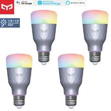 2020 new Yeelight Smart LED Bulb 1SE E27 RGBW Colorful 100 - 240V WIFI Remote Control LED Lamp Light For xiaomi smart home