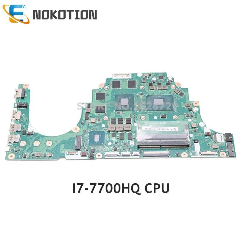 NOKOTION C5PM2 LA-E361P اللوحة الرئيسية لشركة أيسر أسباير VX5-591 VX5-591G اللوحة المحمول I7-7700HQ CPU GTX 1050 GPU