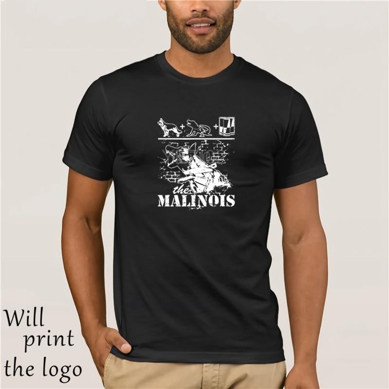Di Estate di modo di Stile K-9-Il Malinois стандартная футболка унисекс футболка