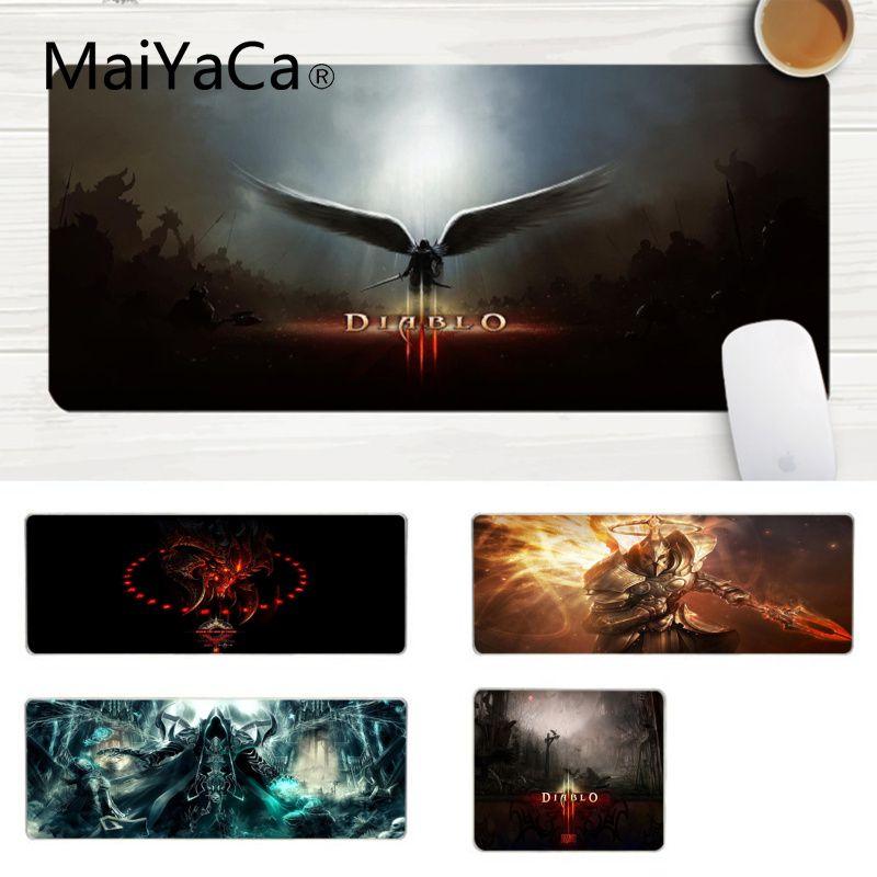 MaiYaCa, nuevo diseño, Cool Diablo III, alfombrilla para ratón ratones Gaming para portátil para ordenador portátil, alfombrilla para ratón para jugar, alfombrilla para ratón
