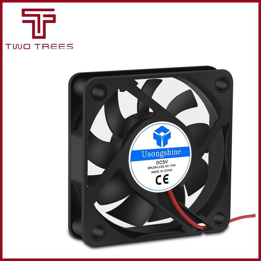 DC 5010 5V/12V/24V Computer CPU Cooler Mini Cooling Fan 50MM 50x50x10mm Small Exhaust Fan for 3D Printer 2 pin 4010 Fan