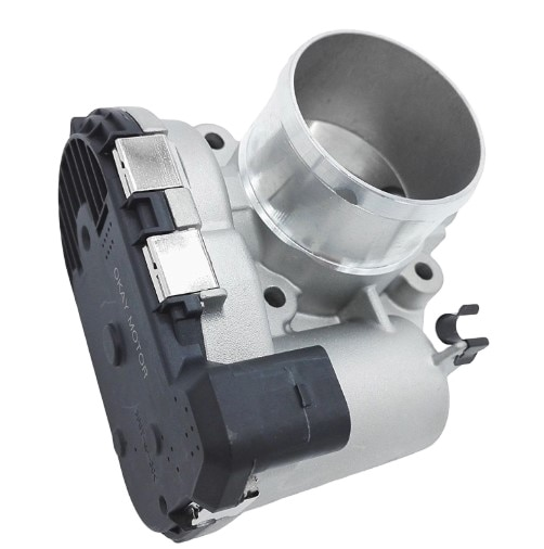Throttle body 0280750535 7S7G9F991CA 7S7G9F991BA  for Fords Fiestas Connects 1.6L enlarge