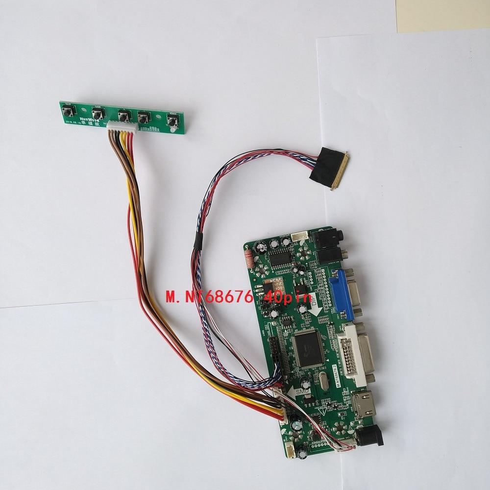 LED HDMI DVI VGA عدة Aduio تحكم سائق مجلس كابل ل 40pin N101L6-L01/N101L6-L02 1024*600 لوحة رصد بطاقة