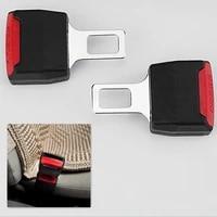 2pcs car seat belt clip extension plug car safety seat lock buckle seatbelt clip extender converter accessories