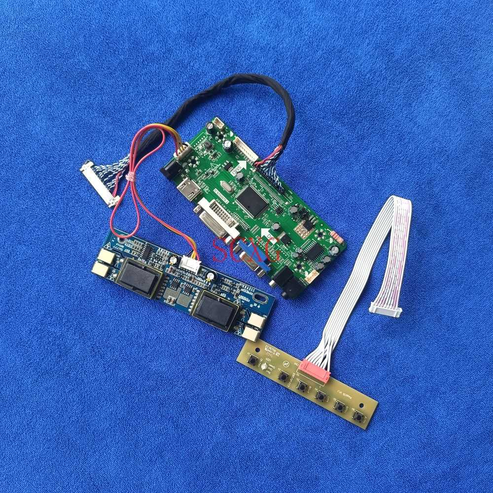 HDMI-متوافق VGA DVI 4CCFL 30 دبوس LVDS عدة شاشات كريستال بلورية ل M270H1-L01/L0A M270HW01 V0/V1 1920*1080 متر. NT68676 لوحة تحكم