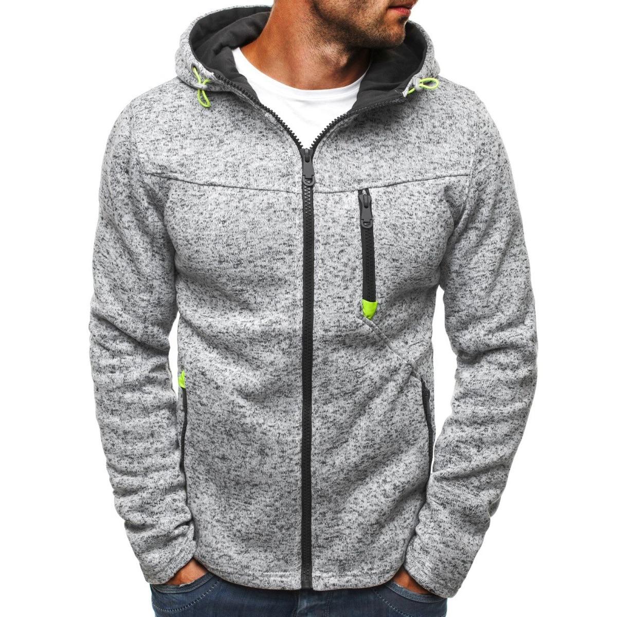 MRMT 2021 Brand Jacquard Hoodie Fleece Cardigan Hooded Coat Men's Hoodies Sweatshirts Pullover For M