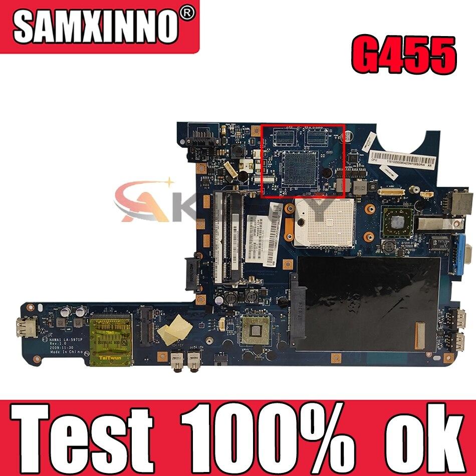 ?????? ???? LA-5971P ?????? G455 G455A G455AX ???? ?????? ???? (???? ???????? ???????? ?????) DDR2 100% ?????? ?????