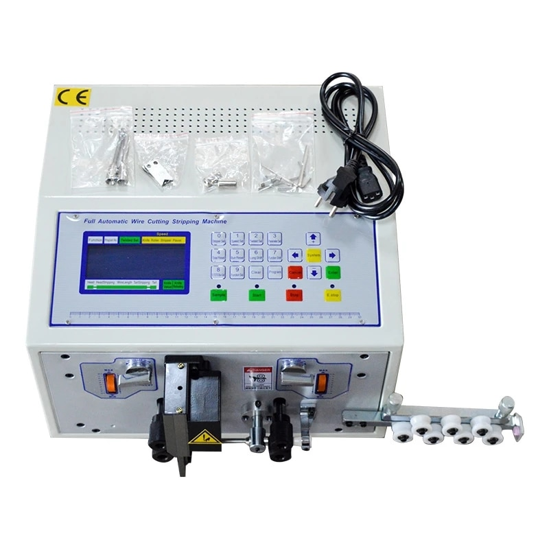 Automatic Wire Stripper 110-220V Wire Cutter 0.1-2.5mm SWT508D-II Computer Strip Machine With LCD Display  Wire Stripper Tool