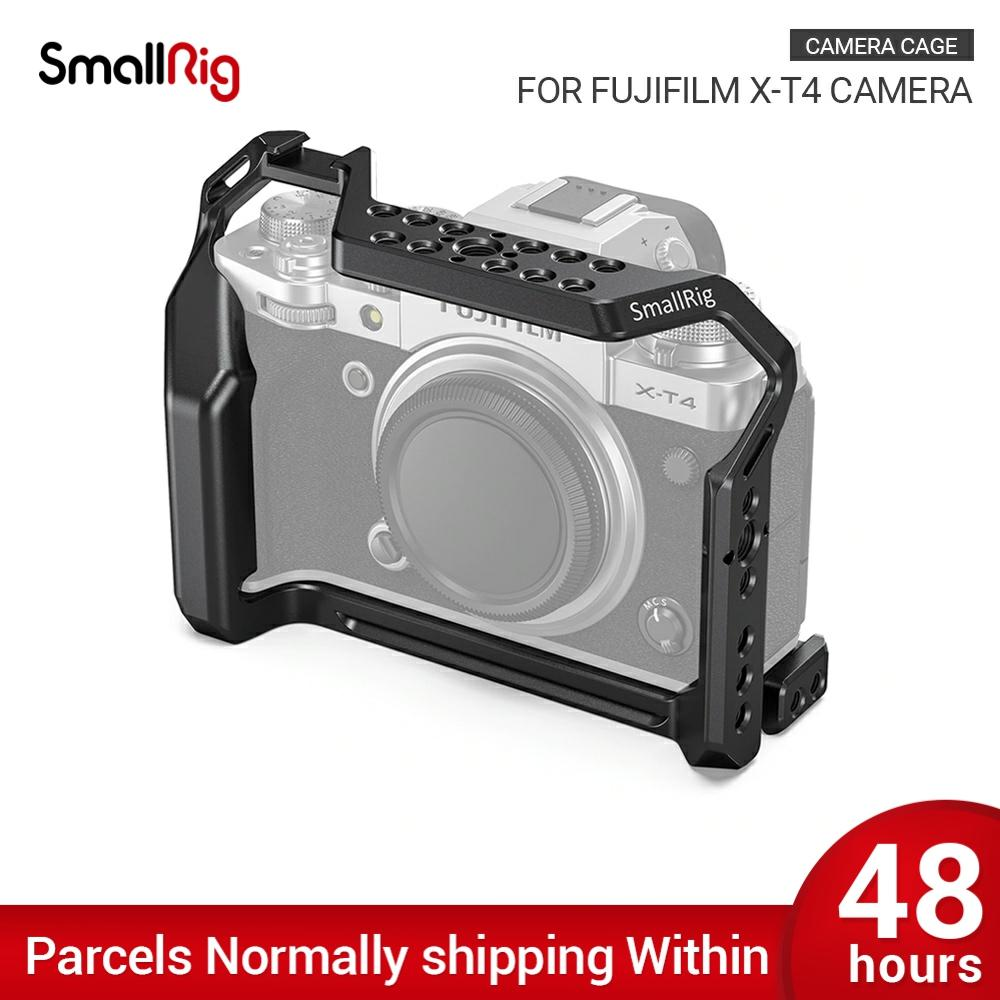 SmallRig  XT4 Camera Cage for FUJIFILM X-T4 Camera Formfitting Full Cage W/ Shoe Mount Mutiful Thread Holes for DIY Options 2808