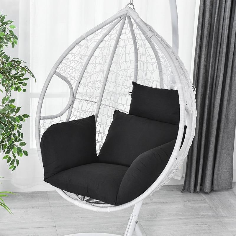 وسادة كرسي متأرجحة معلقة ، مقعد أرجوحة سميك قابل للإزالة ، للاستخدام في الهواء الطلق ، JAN88
