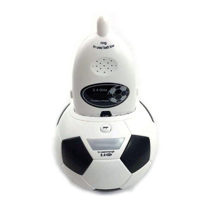 Sistema de teléfono inalámbrico creativo 2,4 GHz con página, rellamada, pausa, habla, escáner, teléfono fijo inalámbrico para la oficina en casa