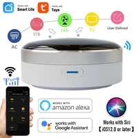Hub de controle intelligent universel IR WiFi   infrarouge  application Tuya  fonctionne avec Google Assistant Alexa Siri