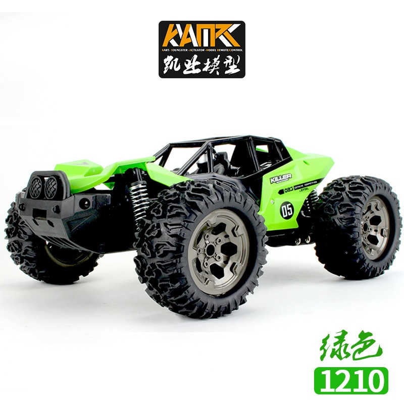 RC Car 1:16 Scale 2.4GHz 4WD High Speed Fast Remote Control Racing Car USB Charging Off-Road Vehicle  For Kids enlarge