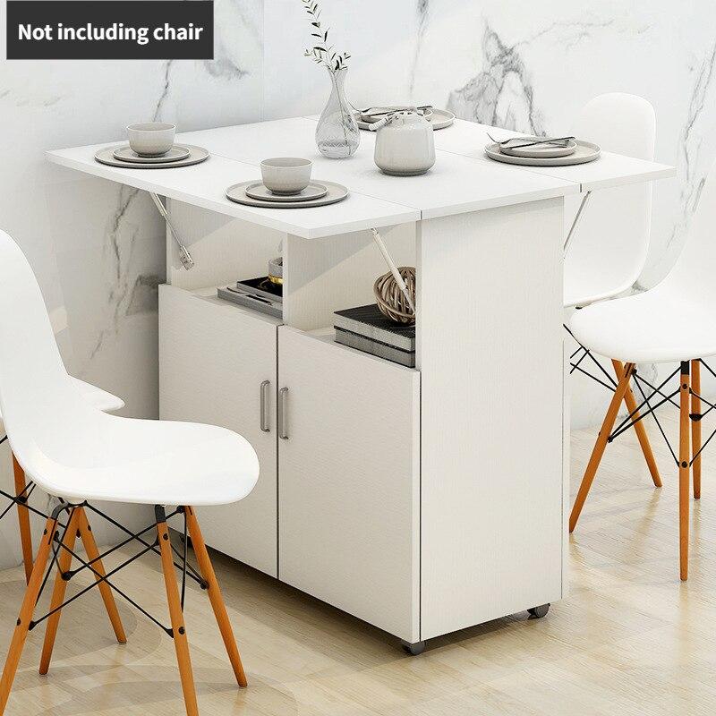 طاولة طعام قابلة للطي وكرسي الجمع الحديث بسيط تقليد خشب متين كرسي الطعام المحمول متعددة الوظائف طاولة الطعام