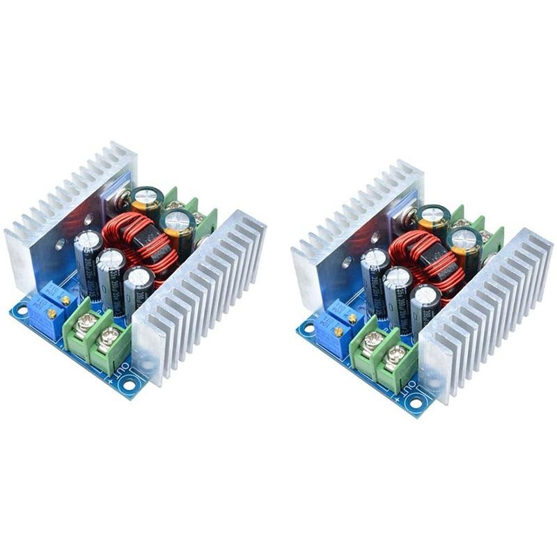 20A 300W CC CV Buck módulos ajustable DC 6-40V a 1,2-36V Buck convertidor de alimentación de corriente constante de Module-2Pcs