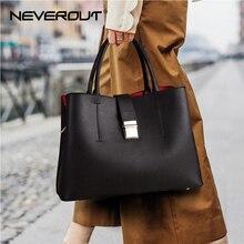 NEVEROUT dames gros sacs à main fourre-tout sac à bandoulière sac à poignée supérieure fermeture à glissière et moraillon sacs à bandoulière de luxe en cuir sac à main femmes sacs