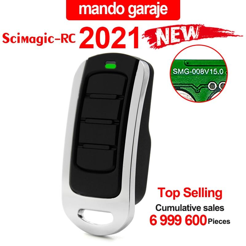 Garage door remote control for 433mhz garage command 868MHz replicator garage door opener rolling code transmitter control