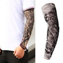 Cycling Sleeve 3D Tattoo Printing Arm Sleeve Anti-UV Bike Sleeve Arm Sleeve Protect Outdoor Sports C
