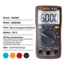 Цифровой мультиметр AN8002 тестер сопротивления тока напряжения