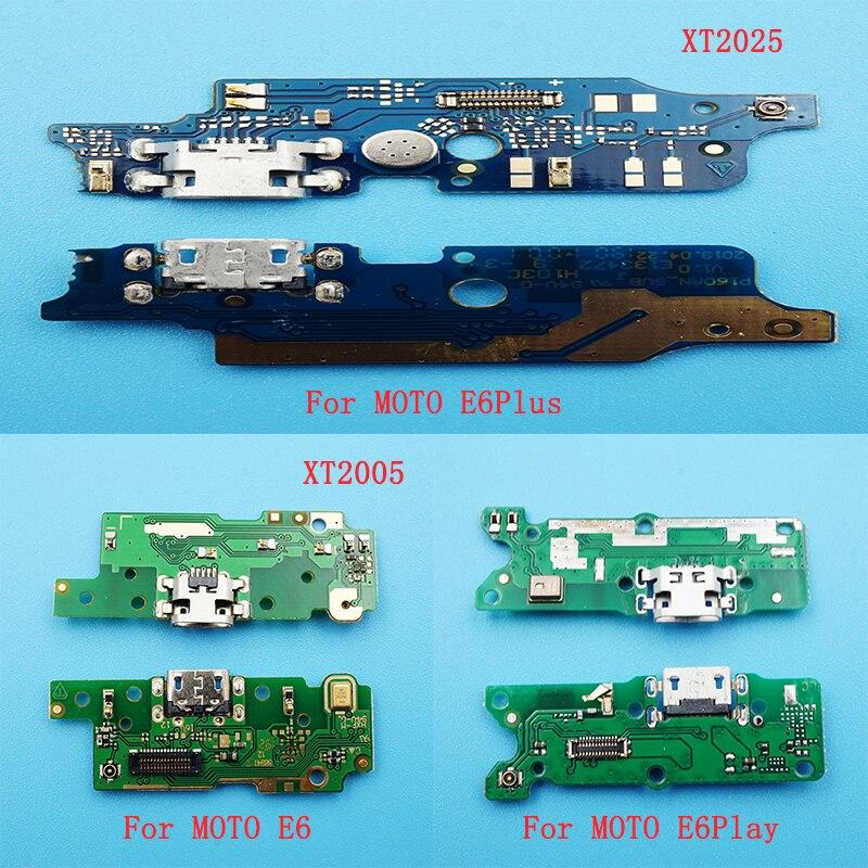 10 قطعة المصغّر USB فليكس كابل ل موتو E6/XT2005 E6plus/XT2025 E6play USB منفذ شاحن قفص الاتهام موصل قابس استبدال هيئة التصنيع العسكري
