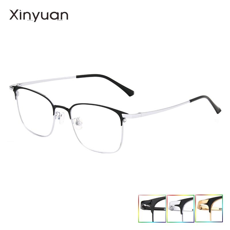 689 Optical Ultralight Beta Titanium Flexible Square Glasses Frame Men Prescription Eyeglasses Myopia Optical Frames