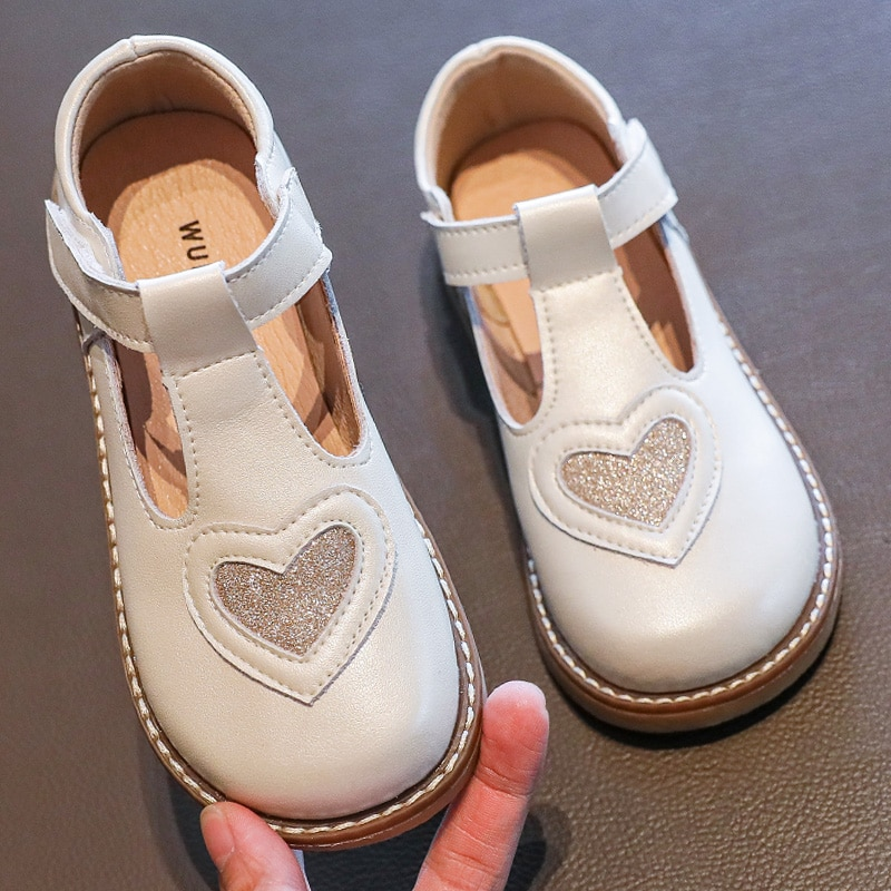 Girl's shoes Princess leather shoes genuine leather soft sole 2020 autumn foreign style baby shoes children's single shoes enlarge