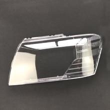 Masques pour Mitsubishi Cheetah V73 V75 V77 2004-2011   Couvercle de lampe à coque transparente, phares avant