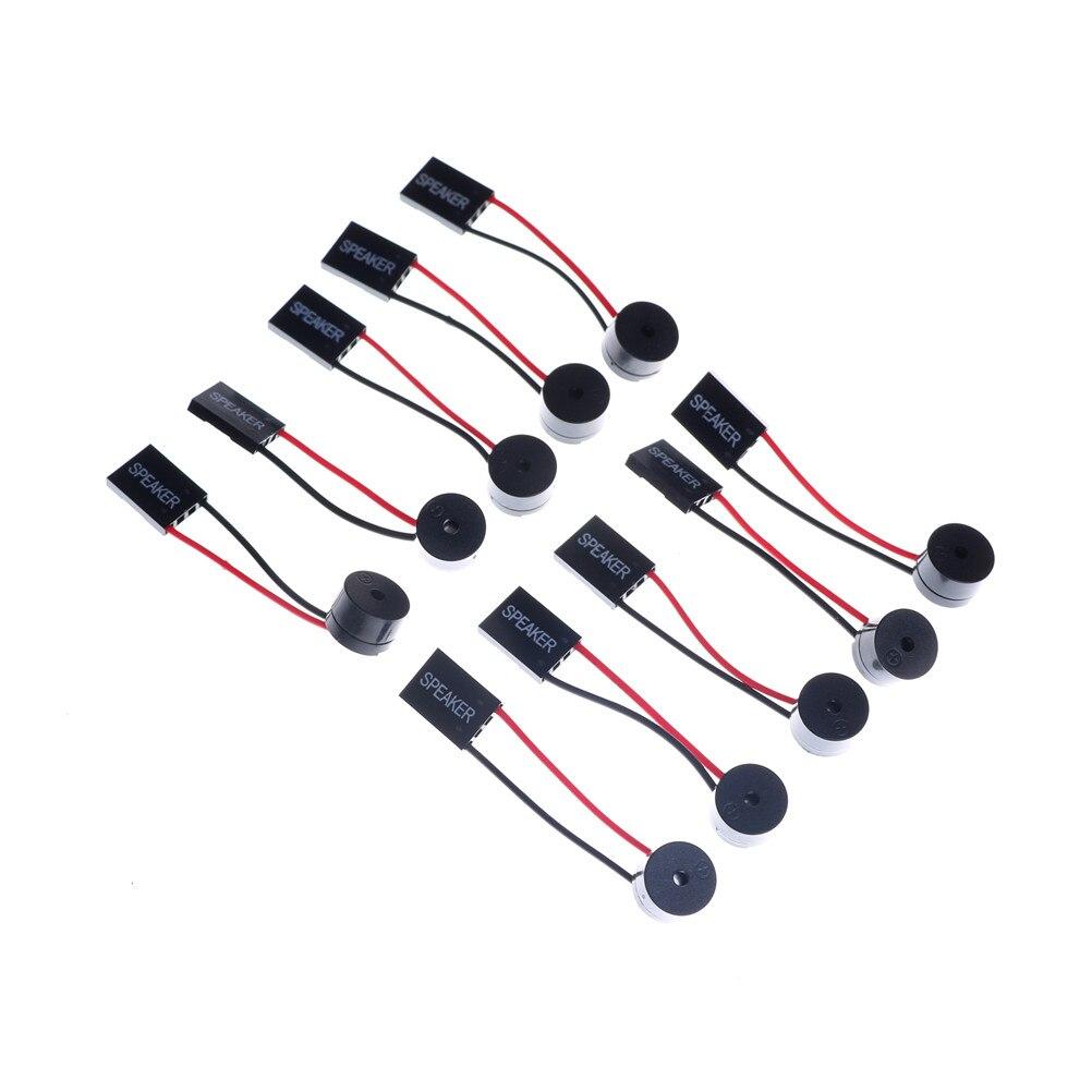 10pcs/set Motherboard Mainboard Computer BIOS Beep Code Internal Speaker Buzzle Alarm Connector Adapter Plug