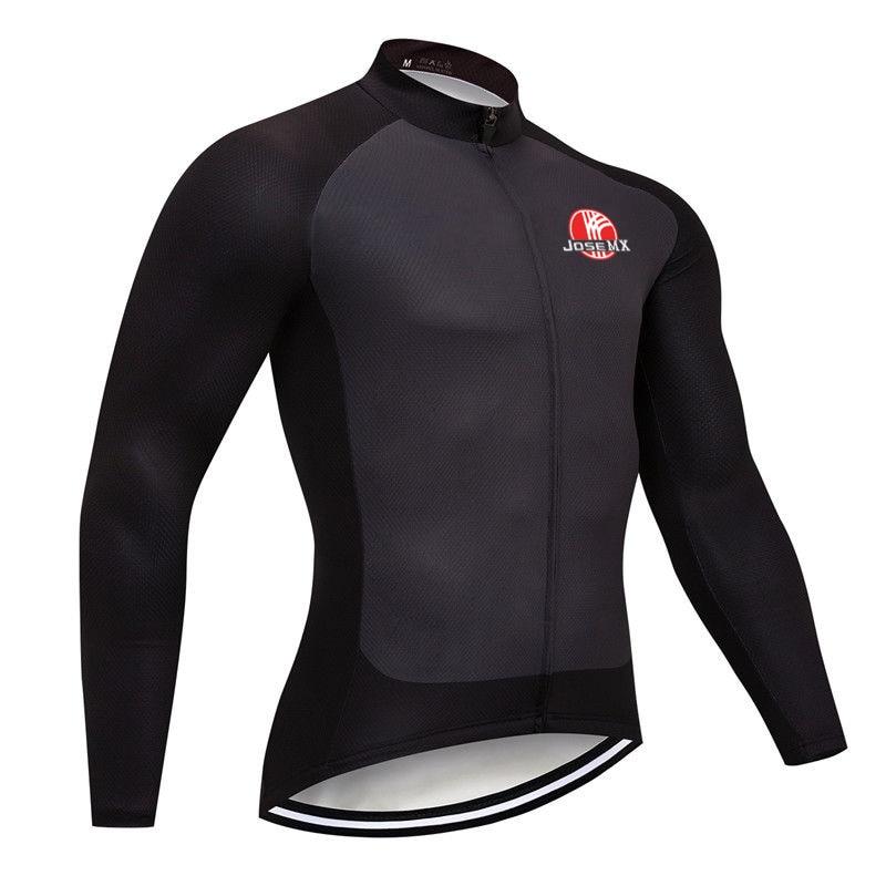Camisa de Ciclismo Josemx Manga Longa Bicicleta Roupas Mtb Bib Camisa Esportiva Equipe Motocross Montanha Estrada Apertado Jaqueta Superior Men