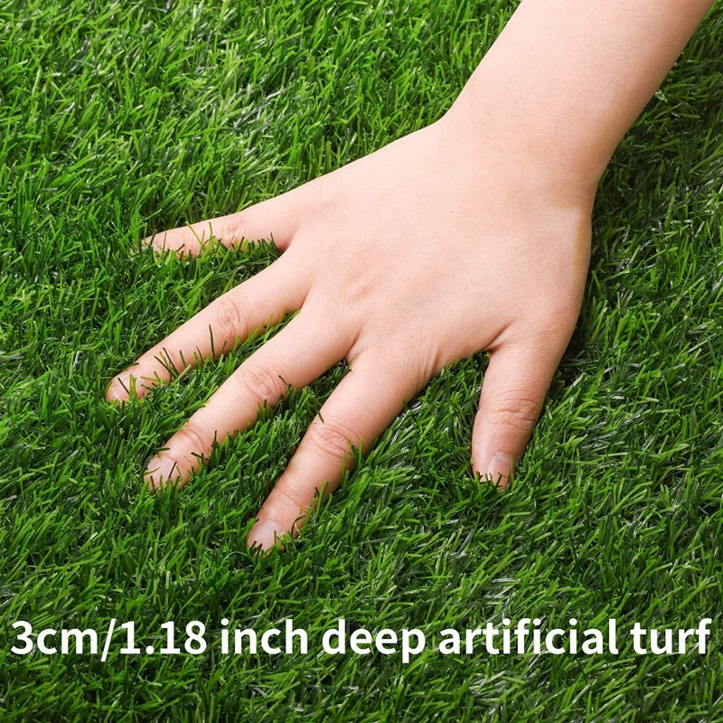 MLGB العشب الاصطناعي الجدول العدائين لفافة سجادة عشب صناعي الجدول عداء العشب منضدية الديكور 12x108 Inch