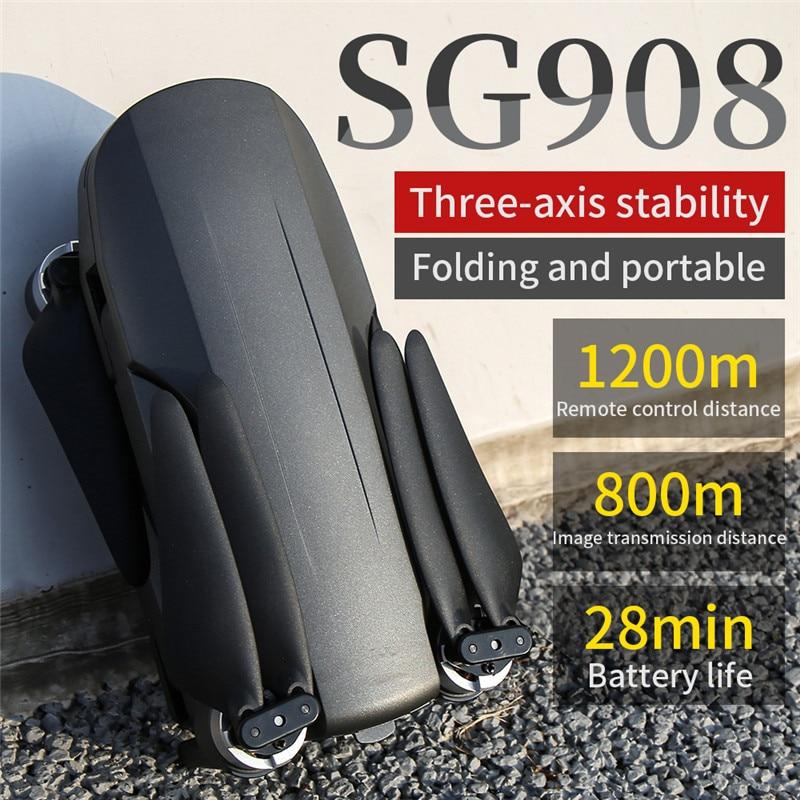 Dron SG908 4K profesional GPS FPV 5G Wifi Control remoto Dron 3...