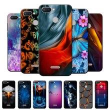 Case For Redmi 6 Case Redmi 6 Cool Fashion Pattern Silicone Soft Cover For Xiaomi Redmi 6 Case TPU B