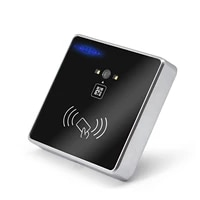 automatic door controller qr code rfid smart access control lock ic for scenic tourist staff hm30
