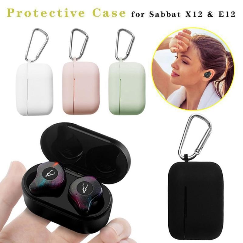 Funda para auriculares Sabbat X12 y E12, funda protectora para auriculares inalámbricos con Bluetooth, funda protectora de silicona X12PRO TPU E12