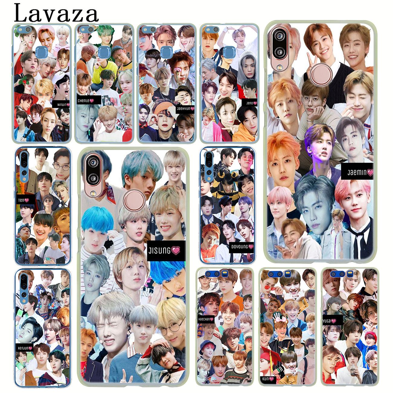 Caixa Do Telefone para Huawei P30 Lavaza NCT 127 KPOP P20 P10 P9 Plus P8 Lite Mini 2017 2016 P inteligente Z 2019