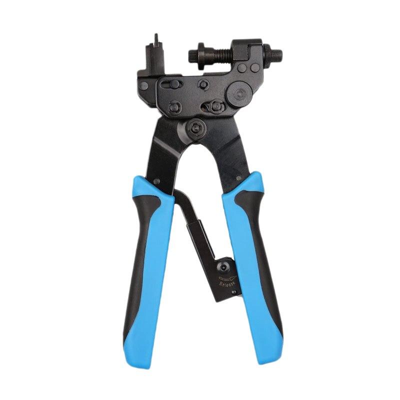 Herramientas de prensado de compresión de 0,5-6mm herramientas precisas para crimpar F,Bnc,RCA,Rg59, Rg6 alicates, herramientas de Cable tipo F