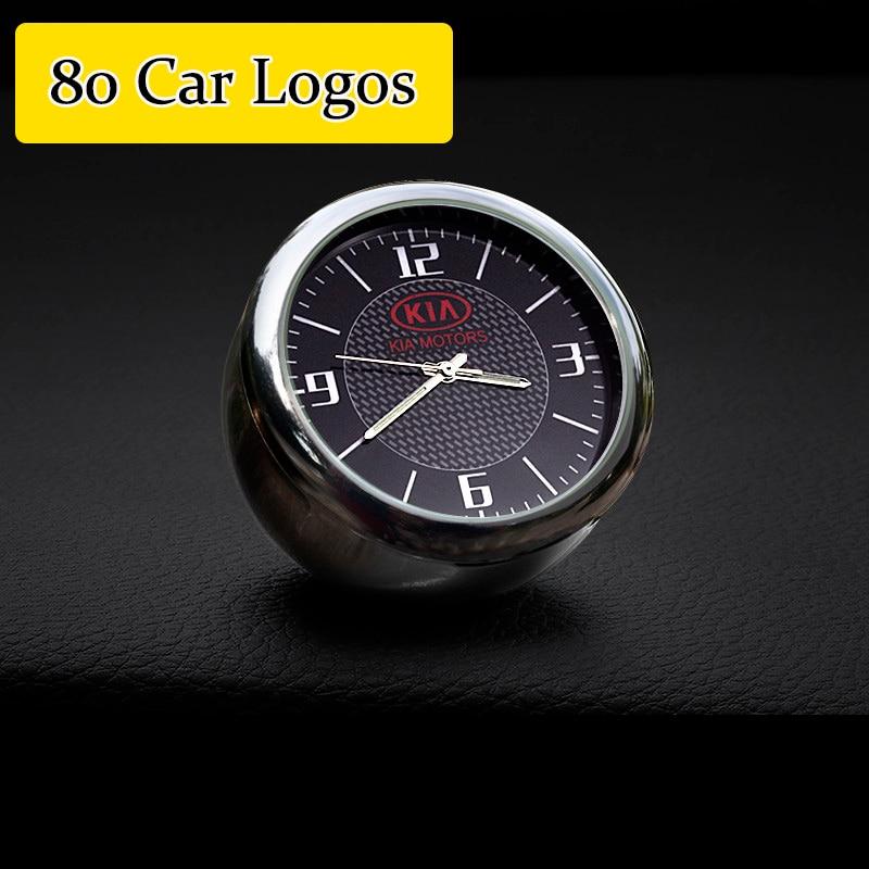 Автомобильные часы авто часы приборная панель Цифровые часы аксессуары для Mercedes Benz BMW Ford Skoda Volkswagen Audi peugeot Renault Toyota